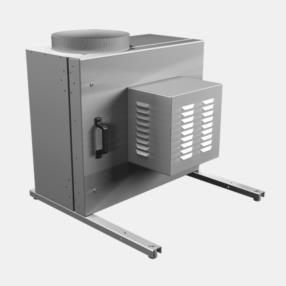 spiratori da cucina ispezionabili con carter a doppia pannellatura