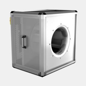 Cassoni ventilati con motore asincrono a sbalzo Unobox ME