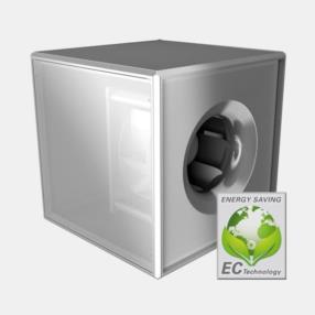 Cassoni ventilati con motoventola centrifuga modello EC Unobox