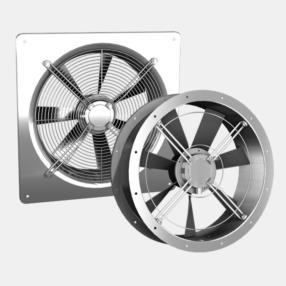 Ventilatori assiali da psrete er/dr eq/dq