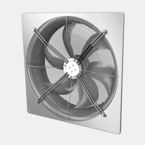 Ventilatori assiali per macchine da condizionamento, refrigerazione, aria compressa AKSE/AKSD/AKA/AKB