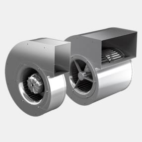 """Ventilatori centrifughi con girante a pala avanti """"slippage"""" serie..."""