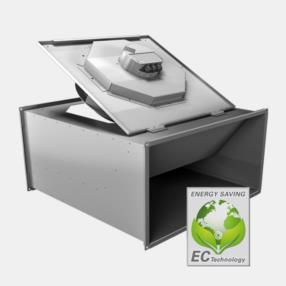 Ventilatori da canale con motore EC (Modello KHAG)