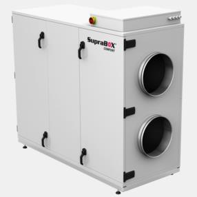 Ventilazione e trattamento aria per edilizia residenziale modello Suprabox
